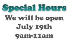 Wantagh Animal Hospital Special Hours